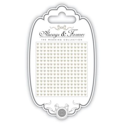 Craft Consortium self Adhesive Pearls 3mm