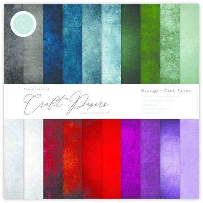 "Craft Consortium  Essential Craft Paper - 12"" x 12"" Dark Tones"