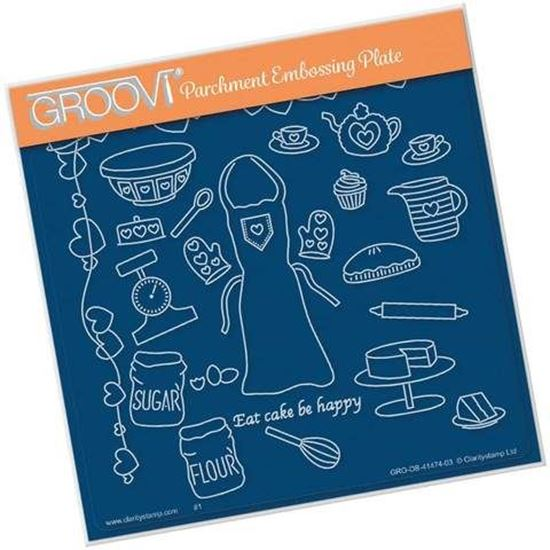 Baking - Hobbies A5 Square Groovi PlateGROOB4147403