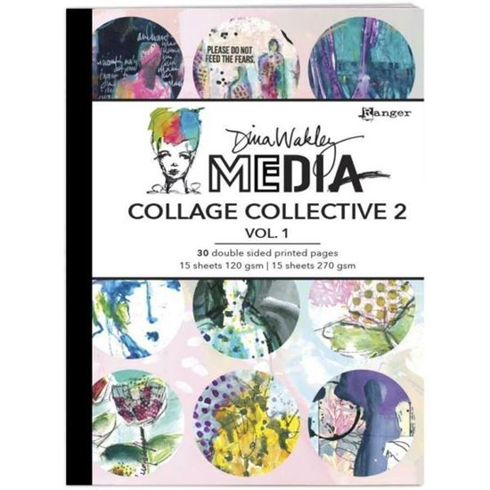 Dina Wakley Collage Collection 2 Vol1