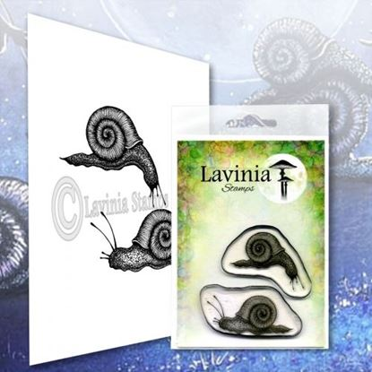 Lavinia Stamps  -  Small Snail Set