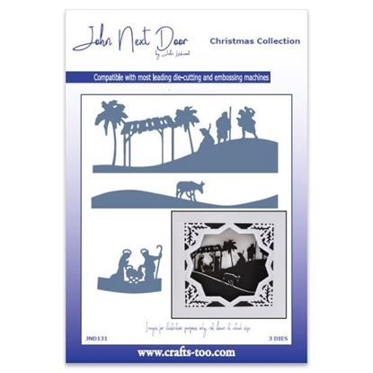 JND Christmas Die - Nativity Scenes
