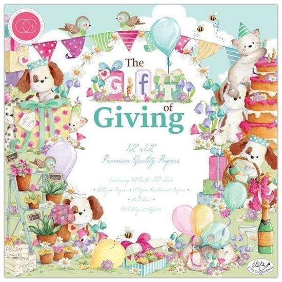 "Craft Consortium Pad - 12"" x 12""The Gift of Giving"