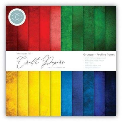 "Essential Craft Paper - 12"" x 12"" Festive Tones"