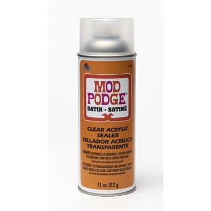 Mod Podge Satin Clear Acrylic Sealer