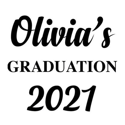 Personalised Graduation s/a Vinyl