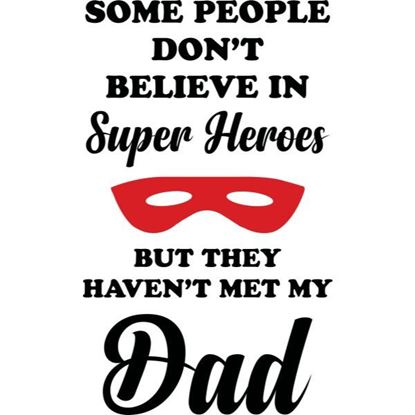 Dad Super Hero s/a Vinyl