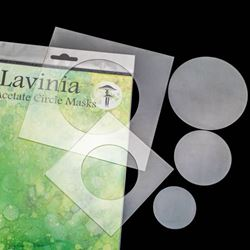 Lavinia Acetate Masks - Circles