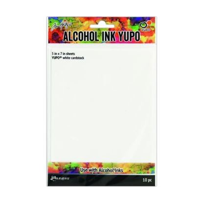 Tim Holtz Alcohol Ink Yupo Card White
