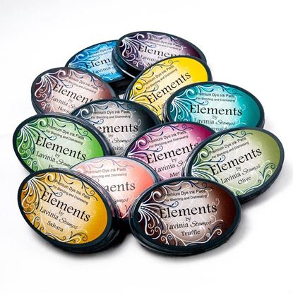 Picture of Lavinia Elements Premium Dye ink Pads - NEW COLOURS ADDED