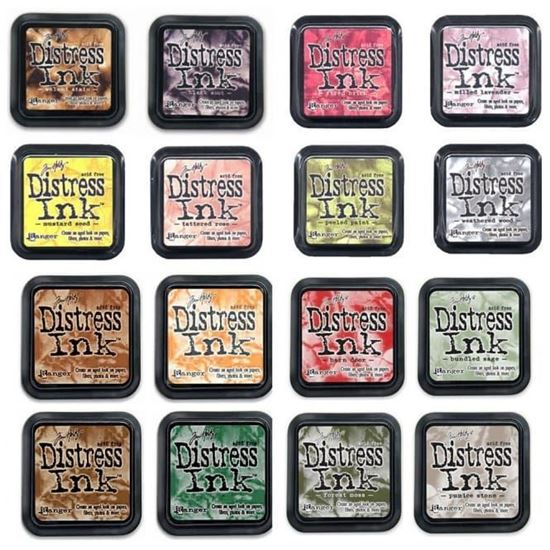 Picture of Tim Holtz Distress Ink Pads  (Full Range)