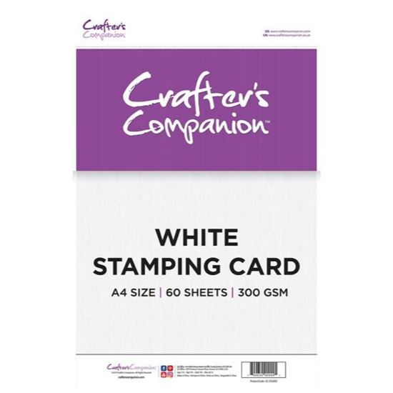 Crafters Companion Stamping Card 300gsm