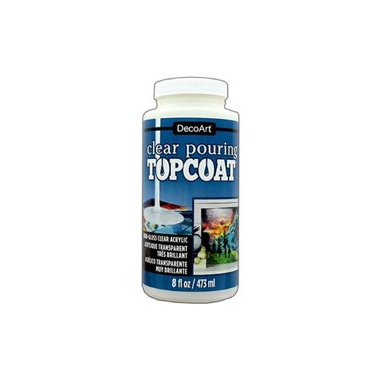 DecoArt Clear Pouring Top Coat (Available in 2 Sizes)